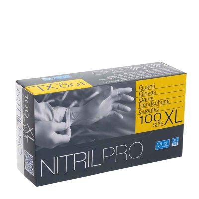 100 Guanti nitrile monouso Icoguanti Nitril Pro taglia XL 9-9,5
