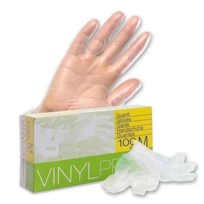 Guanti in vinile monouso VinylPro powder free trasparente taglie a scelta