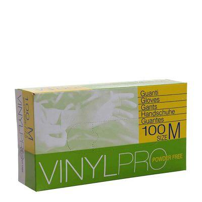 Guanti in vinile monouso VinylPro powder free trasparente taglia M