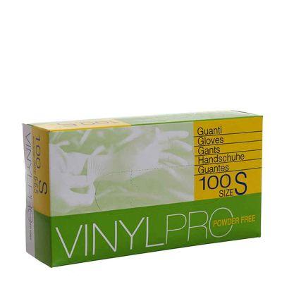 Guanti in vinile monouso VinylPro powder free bianco taglia S