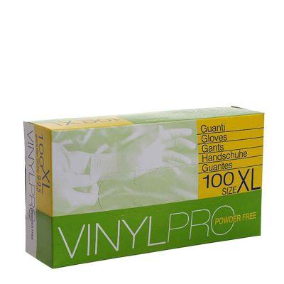 Guanti in vinile monouso VinylPro powder free trasparente taglia XL