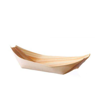 Barchetta in foglia di pino media