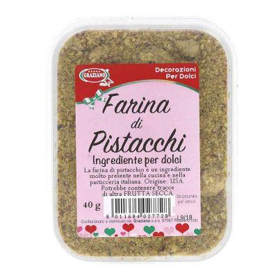 Farina di pistacchi per decorare dolci e salati 40 g