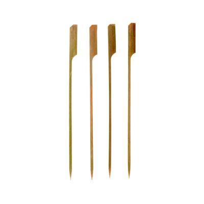 Forchettine di legno 18cm 1 punta per aperitivo