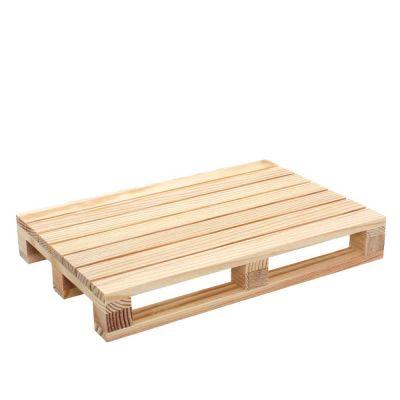10 Mini pallet bancale di legno tagliere grande 24x16x3,5 cm