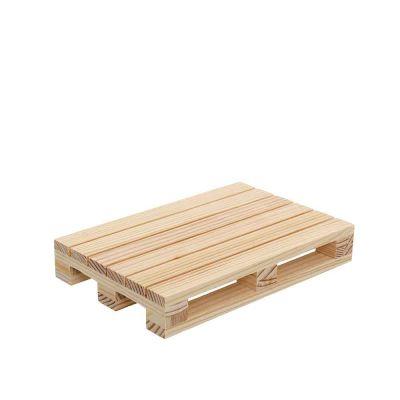 Mini pallet bancale di legno tagliere piccolo 18x12x2,8 cm