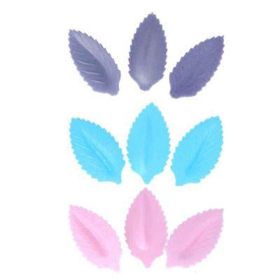 10 Foglie di cialda ostia colorate per decorazione torte