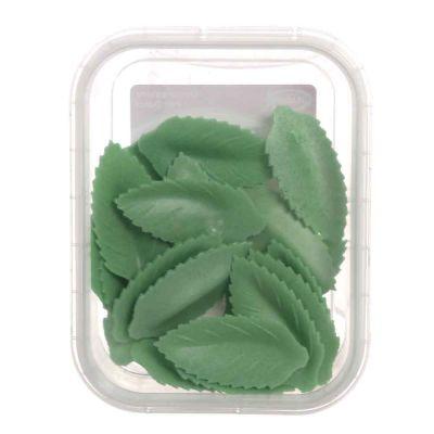 20 Foglie di cialda ostia verdi per decorazione torte