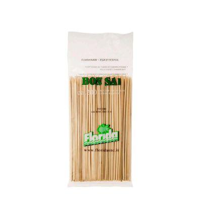 Spiedini di legno in bambù 20 cm