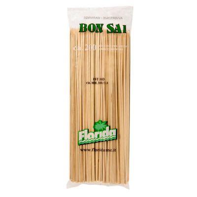 Spiedini di legno in bambù 30 cm