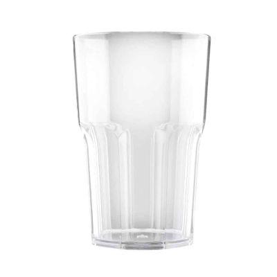 5 Bicchieri per cocktail riutilizzabili Granity trasparenti 400 cc