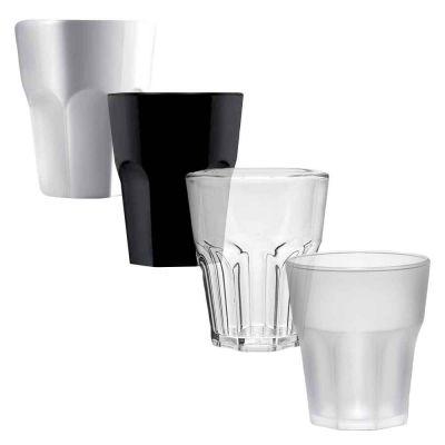 6 Bicchieri shot riutilizzabili e lavabili per degustazione alcolici 40cc