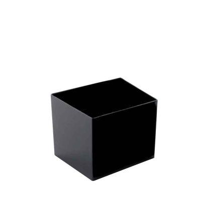 Bicchierini monoporzione quadrati Goldplast Cube 60cc neri
