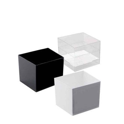 Bicchierini Monoporzioni quadrati Goldplast Cube 60cc 6027