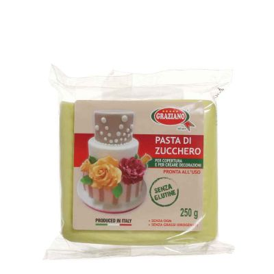 Pasta di zucchero verde acido 250 g