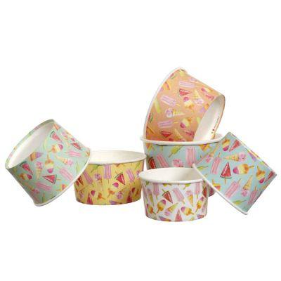 Coppette in carta per gelato Madeline colorate