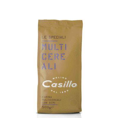 Farina multicereali con semi Casillo 500 g