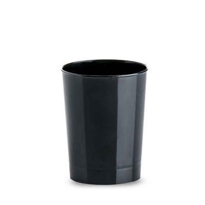 Bicchierini finger food monoporzioni Tubito 120 ml nero