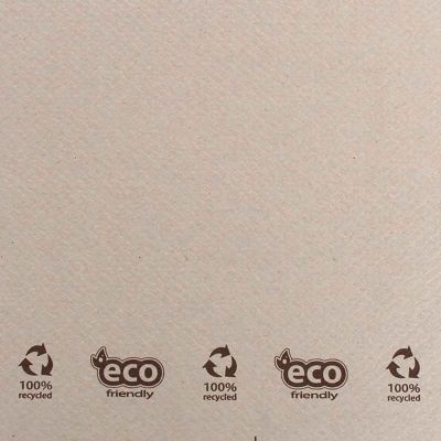 Dettaglio trama Tovaglie di carta ecofriendly quadrate 100x100 cm Okay ecru naturale