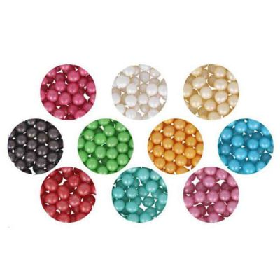 Colori Perle di zucchero colorate per decorazione torte 60 g