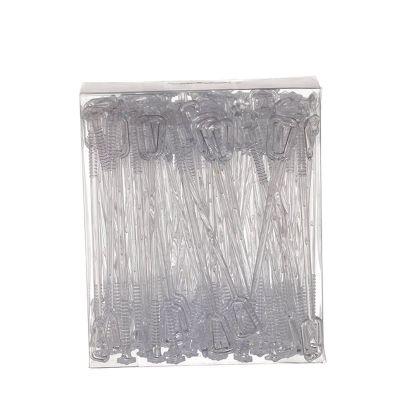 Mixer per cocktail e drink 18 cm in plastica trasparente