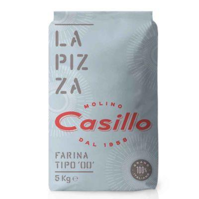 Farina di grano tenero tipo 00 per pizza W260 Casillo 5 kg