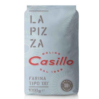 Farina di grano tenero tipo 00 per pizza W260 Casillo 1 kg