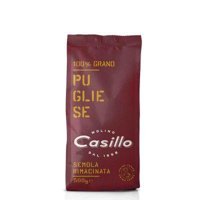 Farina di semola di grano duro pugliese rimacinata Casillo 500 g