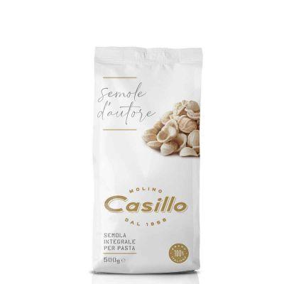 Farina di semola integrale per pasta fatta in casa Casillo 500 g
