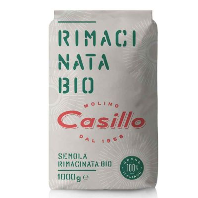 Farina di semola di grano duro rimacinata biologica Casillo 1 kg