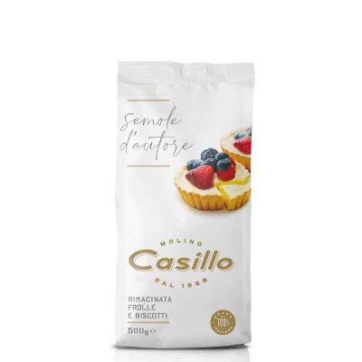 Farina di semola rimacinata per frolle e biscotti Casillo 500 g