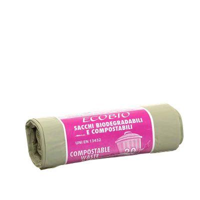20 Sacchetti biodegradabili 50x60m