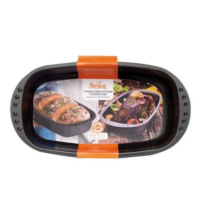 Stampo per pane ovale antiaderente 37 x 20 x h 7 cm