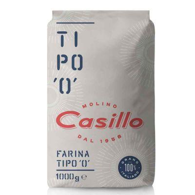 Farina di grano tenero tipo 0 W200 Casillo 1 kg