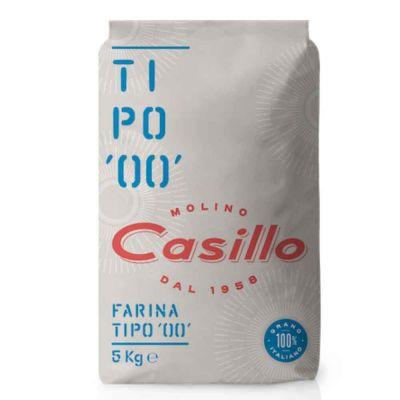 Farina di grano tenero tipo 00 W200 Casillo 5 kg