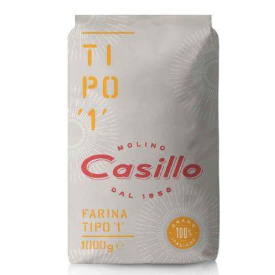 Farina di grano tenero tipo 1 W240 Casillo 1 kg