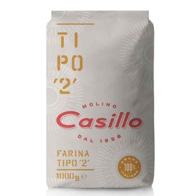Farina di grano tenero tipo 2 W240 Casillo 1 kg
