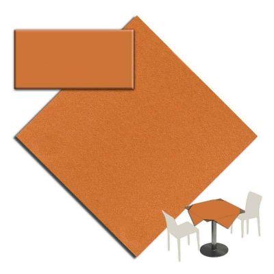 25 Tovaglie tessuto non tessuto coprimacchia in TNT 120x120 cm arancio