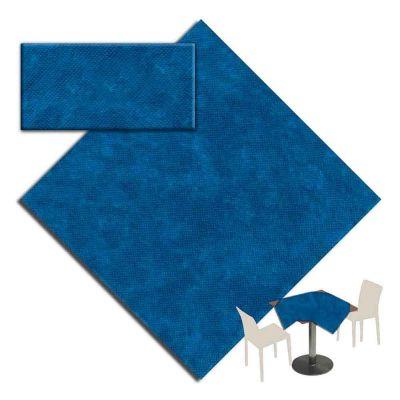 Coprimacchia Macarena TNT 100x100cm Blu