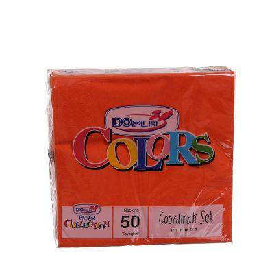 Tovaglioli di carta ovatta DOpla 33x33 arancione