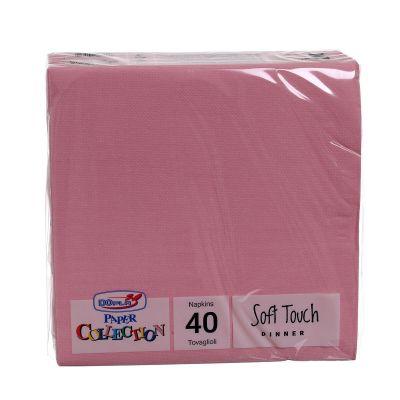 Tovaglioli di carta tessuto non tessuto TNT 38x38 cm rosa