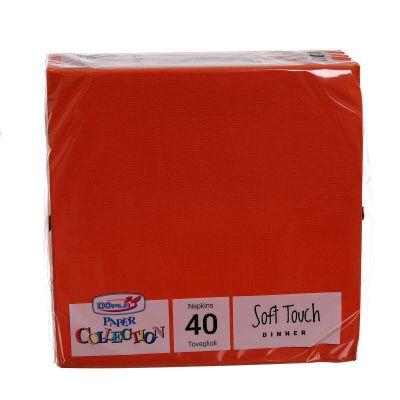 Tovaglioli di carta tessuto non tessuto TNT 38x38 arancione
