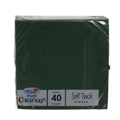 Tovaglioli di carta tessuto non tessuto TNT 38x38 verde