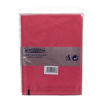Tovaglia TNT effetto tessuto rettangolare rosa