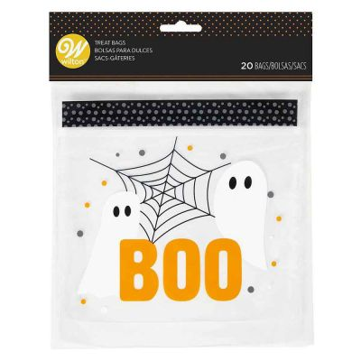 20 Sacchetti per dolciumi Halloween fantasmi
