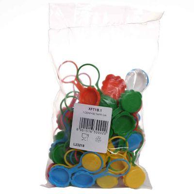 Tappi per bottiglie con anello in plastica