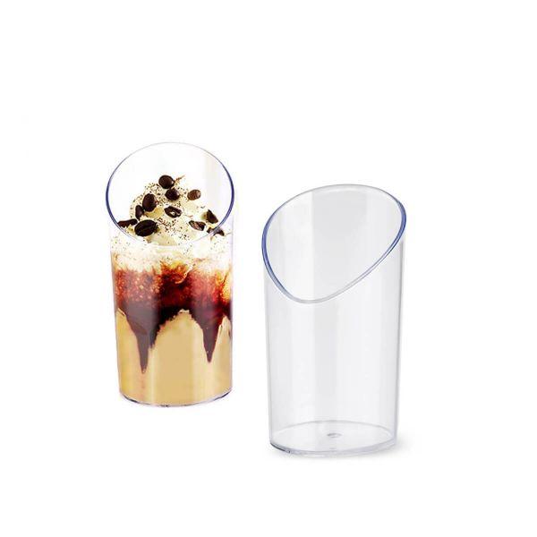Bicchierini finger food monoporzioni Poloplast Bamboo trasparente