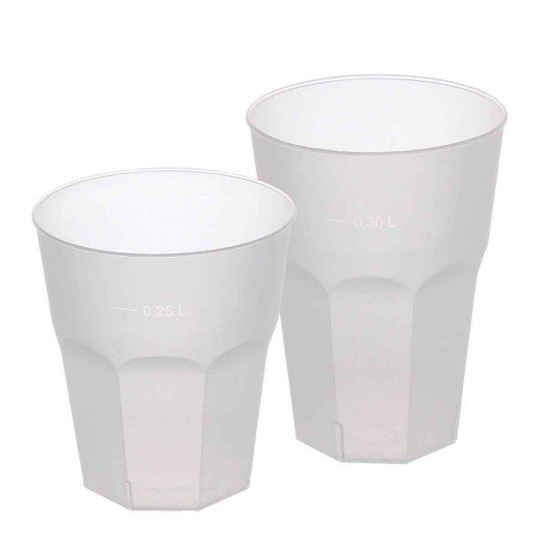 Bicchieri da cocktail satinati Freeze