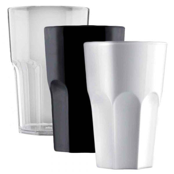 5 Bicchieri per cocktail riutilizzabili Granity 400 cc