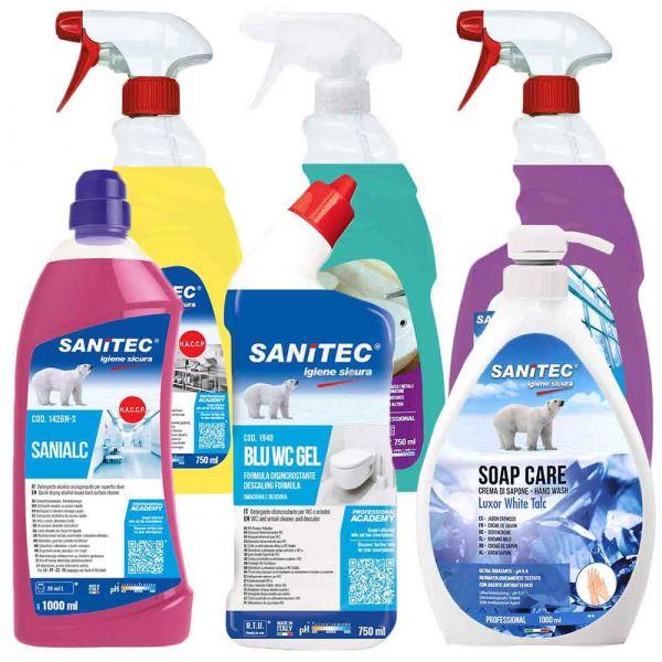 Kit detergenza Sanitec